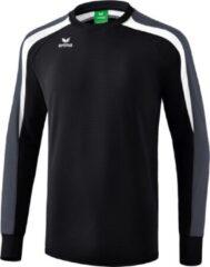 Erima Liga 2.0 Sweatshirt - Zwart / Wit / Donkergrijs | Maat: XL