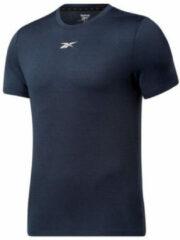 Reebok Training sport T-shirt donkerblauw