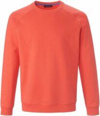 Sweatshirt 100% katoen raglanmouwen Van Louis Sayn roze