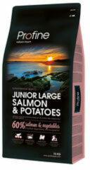Profine Junior Large Breed - Hondenvoeding - Zalm & Aardappel - 15 kg