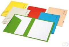 Jalema elastomap Secolor voor ft folio, pak van 5 stuks, blauw
