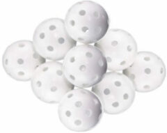 Witte ACM Hollow Balls 9 Stuks golfballen