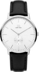 Zilveren Danish Design watches edelstalen herenhorloge Akilia Second Silver IQ12Q1250