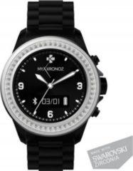 MYKRONOZ ZeClock Smartwatch Schwarz Swarosvki