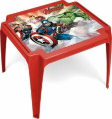 Marvel tafel Avengers junior 50 x 55 x 44 cm rood