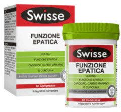 Swisse Funzione Epatica Integratore Alimentare 60 Compresse