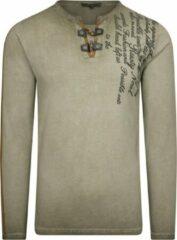 Groene Rusty Neal heren shirt 10115