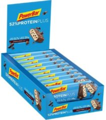 20x PowerBar Proteïne Plus 52% Bar Cookies&Cream 50 gr