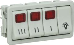 Novy Schalter für Dunstabzughaube 000906104