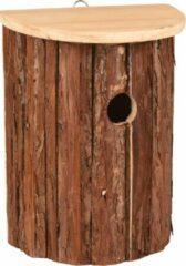 WorldPet Flamingo Nestkastje gerson hout natuur 18,5x11x25cm