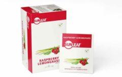 Sunleaf - White Tea Raspberry Lemongrass - 1,5gr - 80 stuks