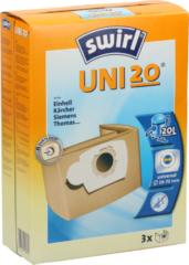 Melitta Haushaltsprod Uni 20 (VE3) - Staubbeutel für übrige Marken Uni 20 (Inhalt: 3)