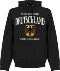 Retake Duitsland Rugby Hoodie - Zwart - S