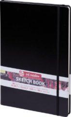 Witte Royal Talens Talens Art Creation Schetsboek Zwart 21x30 cm 140gr 80 vel