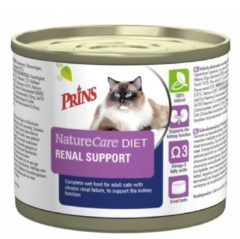 PRINS DIEETVOEDING Prins NatureCare Diet Cat Renal Support natvoer 200 gram
