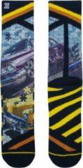 Blauwe Xpooos Socks Jigsaw 60198