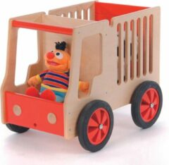 Rode Legler Houten Transportkar voor dieren