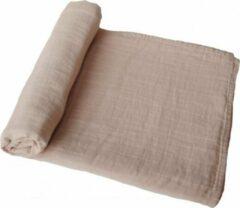 MUSHIE swaddle | Pale taupe | BIBS | XL omslagdoek | hydrofiel