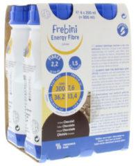 Fresubin Energy drink chocolate 200 ml 4 Stuks