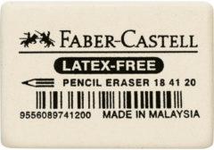 Witte Faber-Castell Gum FC 7041-20 natuurrubber - afm. 40x27x13mm