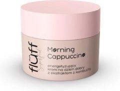 Fluff Ochtend Cappucino stimulerende goedemorgencrème met combo-extract 50ml