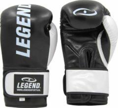 Legend Sports Bokshandschoenen Legend Impact Protect zwart/wit 10 oz