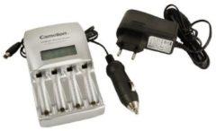 Zilveren Camelion BC-0907 AA AAA Ultrasnelle batterijlader