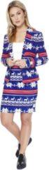 Blauwe Trademark Mrs. Snow Opposuits™ kostuum voor vrouwen - Verkleedkleding