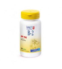 Longlife B-2 50 mg vitamina per il benessere visivo 100 tavolette