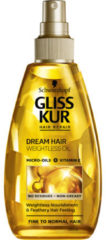 Schwarzkopf Gliss Kur Oil Nutritive Dream Hair Vederlichte Olie 150 ml - 1 stuk