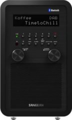 Sangean DDR-60 BT DAB/DAB+ Radio, Aux-In, Bluetooth, in schwarz