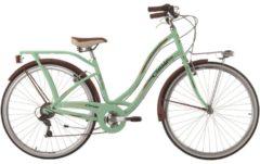 28 Zoll Cinzia Carosello Damen City Fahrrad Aluminium 6 Gang Cinzia pastellgrün