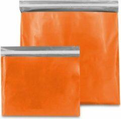 ArtiPack Verpakkingen Plastic Verzendzakken Oranje 400 x 300 mm (M) - 100 micron - (Kleding - Webshop Verpakking) - 20 stuks