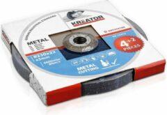 Kreator KRT070160 Doorslijpschijf metaal – Ø230 mm – 3 mm – 6 stuks