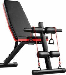 ARQuality Aquality | Fitnessbankje | Halterbank | Verstelbaar | Gewichten bankje |Rood | Halter