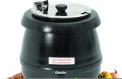 Roestvrijstalen GEBOO Roestvrijstaal Partyketel 9 liter | Staal/RVS | 36 (h) x 33 Ø cm