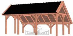 Van Kooten Tuin en Buitenleven Kapschuur de Hoeve XL 710x440 cm