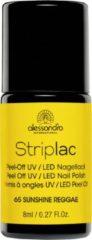 Gele Alessandro Striplac - 65 Sunshine Reggae - Gel nagellak