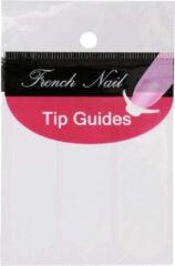 Witte GUAPÀ - French Manicure Nagel Stickers - Nail Art - Kunstnagels - Acryl & Gel - 2 x 51 stuks