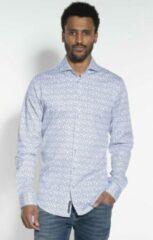 Witte Blue Industry Casual Overhemd Heren lange mouw