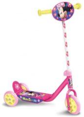 Disney Minnie Mouse 3-wiel Kinderstep - Step - Meisjes - Roze;Geel