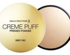 Goudkleurige Max Factor Creme Puff Compact Poeder - 75 Golden