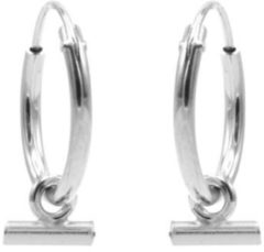 Karma Jewelry Karma Oorringen Hoops Horizontal Tube Zilver