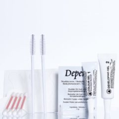Zwarte Depend Lash & Eyebrow Colour Black - Wimperverf en Wenkbrauwverf