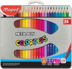 Maped Office Maped driehoekig kleurpotlood Color'Peps 24 potloden
