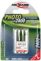 Ansmann Energy Ansmann Mignon Photo - Batterie 2 x AA-Typ NiMH (wiederaufladbar) 2400 mAh 5030492