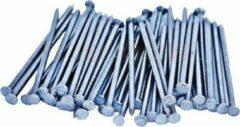 Zilveren Bakcivi Gegalvaniseerde Draadnagels / Spijkers 80x3,40mm - 20 Stuks - Platkop - Geruit