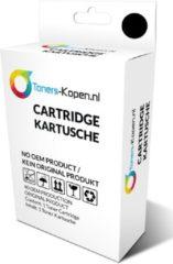 Toners-kopen.nl C13T01340210 T050 alternatief - compatible inkt cartridge voor Epson T050, S020093/S020187/T013 zwart wit Label Toners-kopen nl