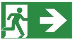 Van Lien pic noodverlichting Previx P-PRE, polycarb, betekenis pic vluchtweg
