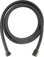 Ben Doucheslang metaal 125 cm Geborsteld Zwart Chroom